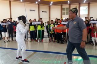 Ratusan Atlet Anggar Ikuti Kejurnas di Situbondo (Video)