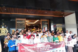 Forkopimda-Parpol dan KPU Jatim Deklarasikan Pilkada Damai