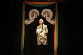 Bupati  Haryanti Tegaskan Komitmen Kembangkan Seni Budaya