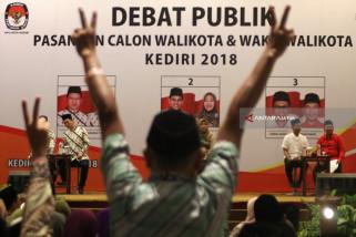 Debat Calon Wali Kota Kediri