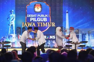 Debat Terakhir Pilkada Jatim Gunakan Bahasa Jawa