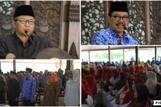 Pj Bupati Tulungagung Gelar Safari Ramadhan Lintaskecamatan