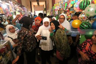 Khofifah di Surabaya