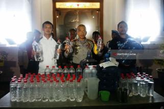 Kapolrestabes Surabaya Serukan Perangi Minuman Keras