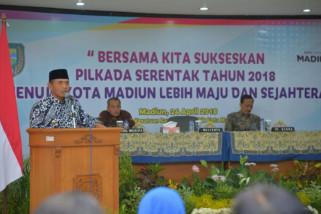 KPU Kota Madiun Gelar Sosialisasi Pilkada 2018