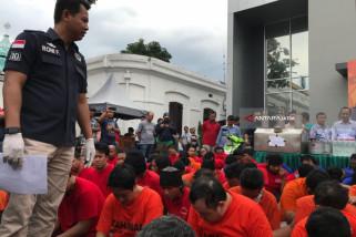 Polrestabes Surabaya Ungkap 110 Kasus Narkoba