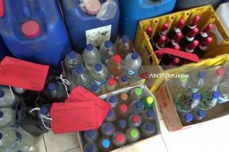 Polres Madiun Kota Amankan 1.725 Liter Minuman Keras