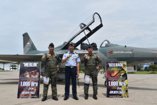 Dua Penerbang Lanud Iswahjudi Capai 1.000 Jam Terbang (Video)