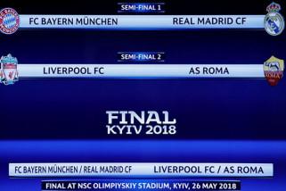 Bayern Jamu Real, Liverpool Tantang Roma