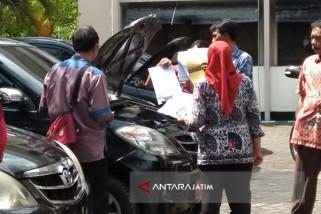 Inspektorat Bangkalan Temukan Kendaraan Dinas Rusak