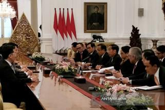 Jokowi terima Kepala Eksekutif Hong Kong (Video)