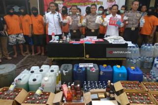 Polisi Tulungagung Tangkap 26 Tersangka Narkoba