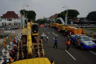 Pemkot Surabaya Tunggu Hasil Kelayakan Jembatan Ujung Galuh