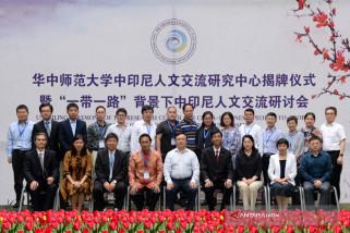 Di Wuhan Pusat Kajian Antar-Masyarakat Indonesia-China Terbentuk