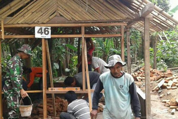 TNI Bedah RTLH di Jenangan Ponorogo
