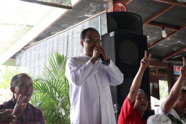 Calon Gubernur Saifullah Yusuf Janji Perhatikan Masyarakat Desa Hutan