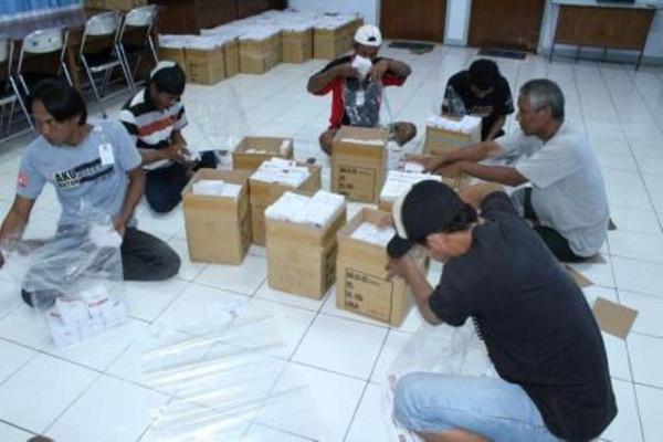 KPU : Surat Suara Pilkada Kota Madiun Telah Siap