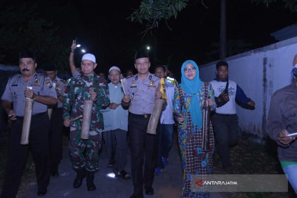Polres-Kodim Situbondo Patrol Sahur Bersama