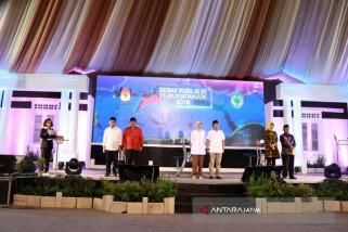 KPU Nganjuk Menggelar Debat Kandidat Putaran Ketiga