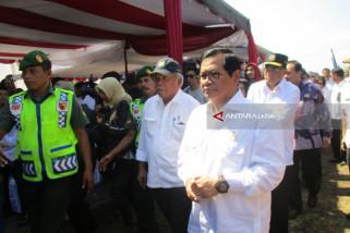 Jembatan Wijaya Kusuma Penghubung Ngadiluwih-Mojo Kabupaten Kediri Diresmikan (Video)
