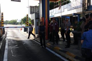 Polisi: Benda Asing Pintu Tol Bukan Bom (Video)