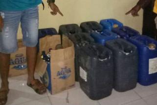 Polisi Ungkap Penjualan Minuman Keras di Ponorogo