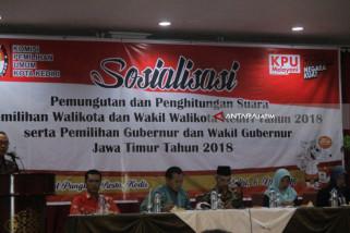 KPU Kota Kediri Sosialisasi Pembentukan KPPS