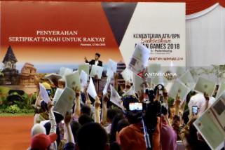 Jokowi: 1,5 Juta Sertifikat untuk Rakyat Jatim (Video)