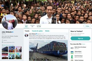 Sempat Cuit Tentang JKT48, Istana Amankan Akun Twitter Presiden