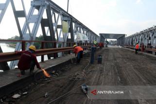 Jembatan Widang Tuban Bisa Difungsikan 3 Juni