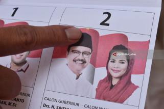 KPU Ngawi Temukan Ribuan Surat Suara Rusak