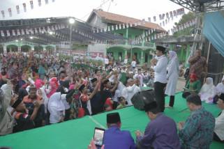 Emil Sapa Ribuan Santri di Pasuruan