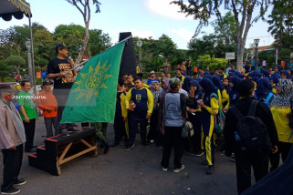 Jelang Pemilu, Pemuda Muhammadiyah Surabaya Deklarasi Anti-Politik Uang
