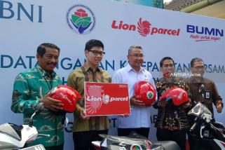 Dongkrak Penghasilan BUMDes, BNI Gandeng Lion Parcel