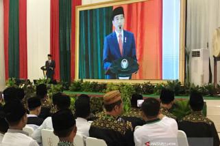 Jokowi Ajak Mubalig-Ulama-Kiai Bersama Benahi Bangsa (Video)