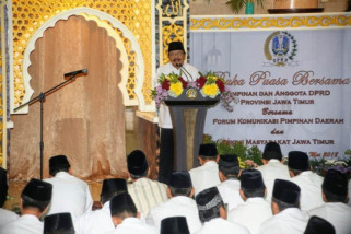 Pakde Karwo: Eksekutif-Legislatif Kerangka Pembangunan Jatim