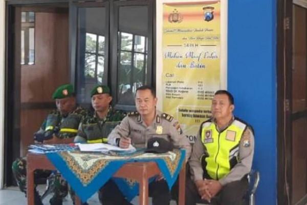 Jajaran Kodim Ponorogo Ikut Amankan Jalur Mudik