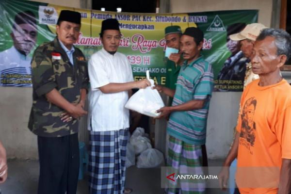 Baznas Situbondo Gandeng Ansor Salurkan Zakat
