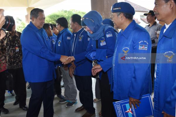 Kunjungan SBY DI Madiun
