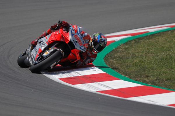 Lorenzo Start Terdepan di Moto GP Katalunya
