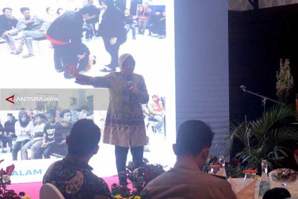 Upaya Risma Jadikan Surabaya Kota Layak Anak