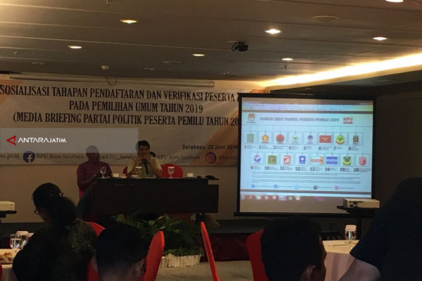 KPU Surabaya Targetkan 79 Persen Partisipasi Pemilih di Pilkada Jatim