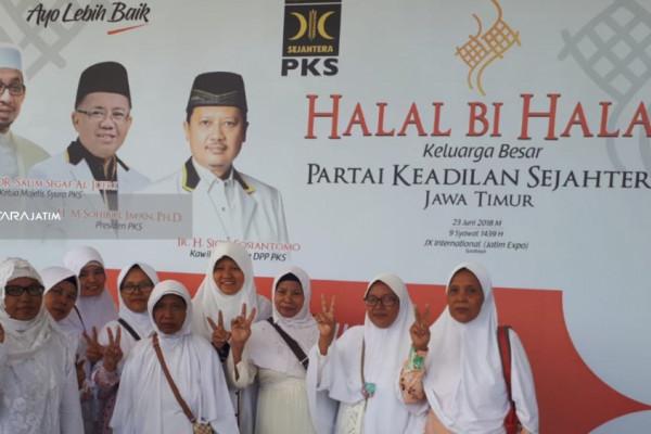 Legislator PKS Ajak Warga Surabaya Menangkan Gus Ipul-Puti