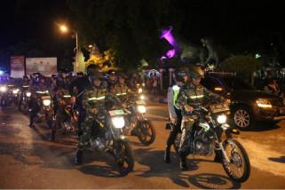 TNI-Polri Patroli Gabungan Skala Besar di Ponorogo