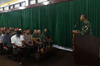 Komandan Kodim Ponorogo Sosialisasi Bahaya Balon Udara