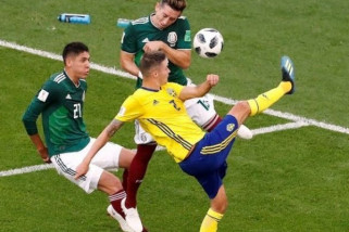 Swedia Bermain Imbang Lawan Rusia