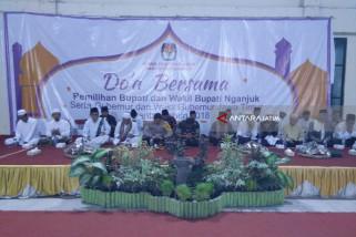 Di Nganjuk, KPU Menggelar Doa Bersama Jelang Pilkada