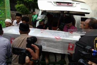 Jenazah Pekerja Migran yang Meninggal di Malaysia Tiba di Jember