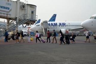 Arus Mudik Bandara Juanda