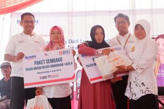 6.000 Paket Sembako Murah BNI untuk Pekerja Migran